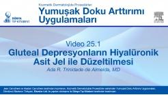 Video 25.1: Gluteal Depresyonların Hiyalüronik Asit Jel ile Düzeltilmesi